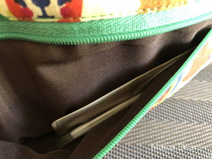 三段ファスナーポーチ・ポケット画像1