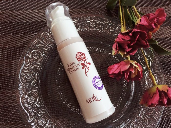 天然成分100%のバラの香りの保湿クリーム!アルテローズモイスチャークリーム