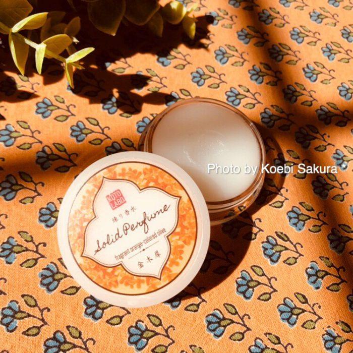 コトラボ 練り香水・金木犀の香り